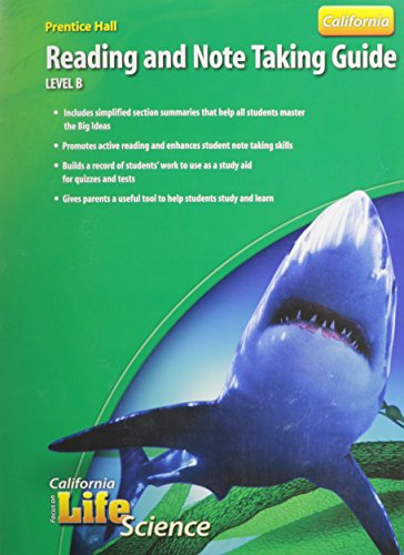 Focus on Life Science Reading and Note Taking Guide Level B California Edition