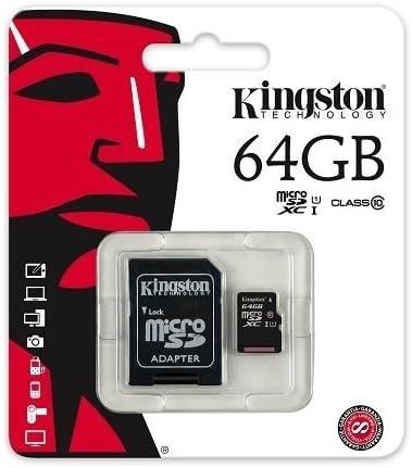 Class 10 shopping Kingston Ultra price Micro 64GB Card SD Memory