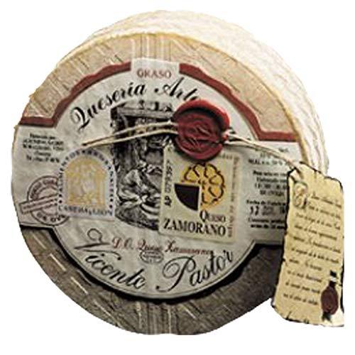 Queso de Oveja curado VICENTE PASTOR 2.9 Kg. Queso Zamorano elaborado con pasta prensada de leche cruda. Queso Artesanal curado 8-10 meses en bodega.