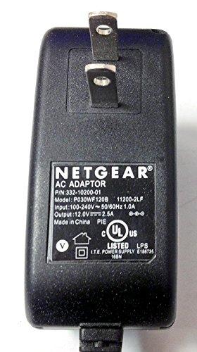 Genuine Netgear AC Adapter Power Supply 12.0V 2.5A Model: P030WF120B & 332-10200-02