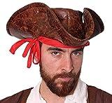 ILOVEFANCYDRESS Adultos TRICORNIO Hat Pirate Highwayman Town Crier Dick Turpin Disfraces Cualquier Fiesta