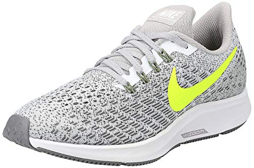 Nike Wmns Nike Air Zoom Pegasus 35, Women's Running, Multicolored (White/Volt/Gunsmoke/Atmosphere Grey 101), 7.5 UK ( EU)