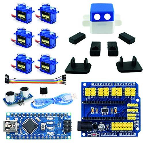Otto con Mangas Robot Azul para Arduino Nano Project Kit, con ...