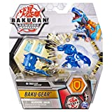 Bakugan Ultra, Aquos Trox with Transforming Baku-Gear, Armored Alliance 3-inch Tall Collectible Action Figure