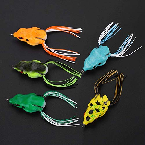 KTZAJO Oreilet Fishing Lure, Fishing Tackle, 5Pcs for Home Fishing Camping Outdoor