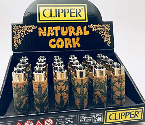 Can Kultur Shop Clipper Cork Leafs #9 Mini (1 Clipper Cork #9 klein - Zufall)