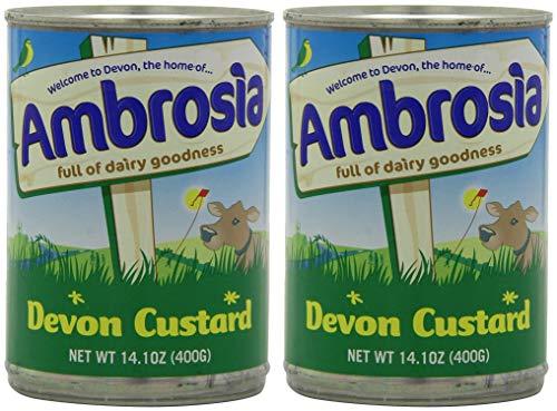 Ambrosia Devon Custard, 14.1-Ounce Can (Pack of 4)