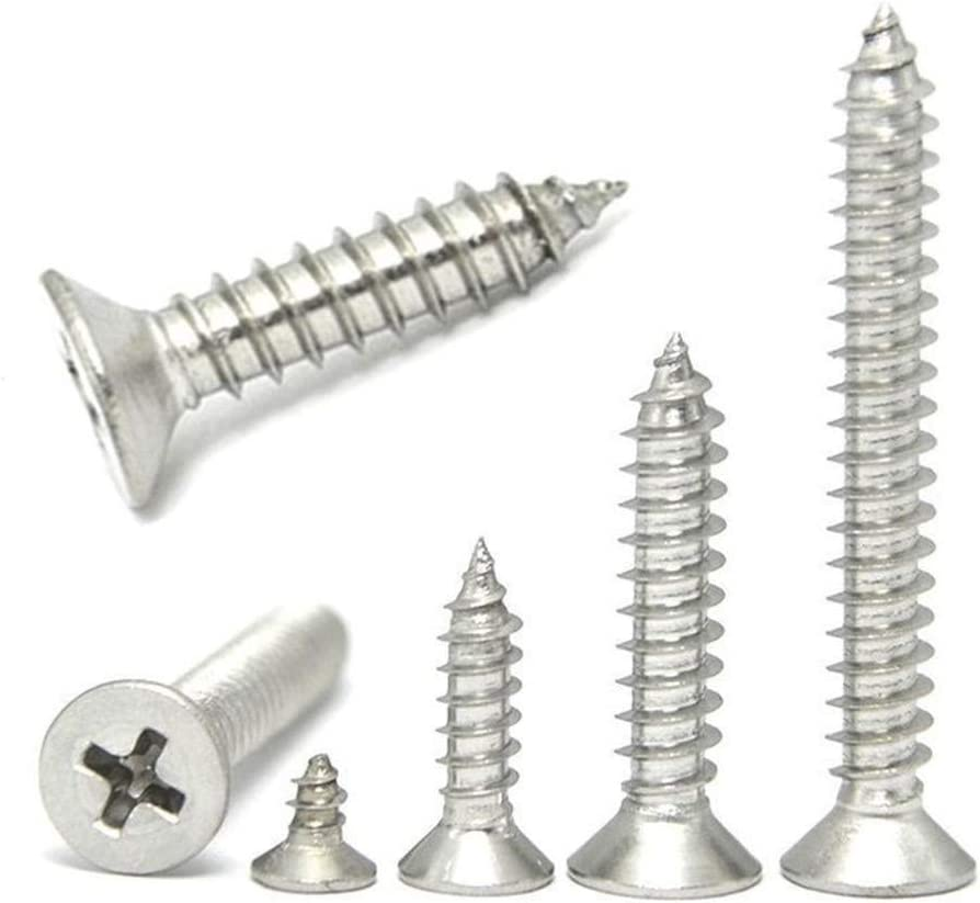 Stainless Steel Hex Self Drilling Tapping Screws Phillips M4.2 M4.8 M5.5