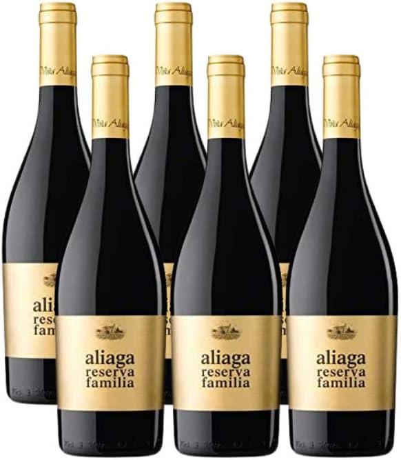 Aliaga Reserva de la Familia 2014 Pack de 6 botellas. Vino tinto de Navarra de la Bodega Viña Aliaga. Tempranillo y Cabernet Sauvignon.