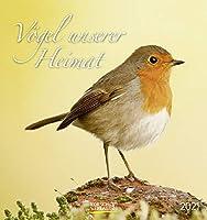 Voegel unserer Heimat 2021: Aufstellbarer Postkartenkalender mit Bildern von Voegeln in der Natur der Heimat