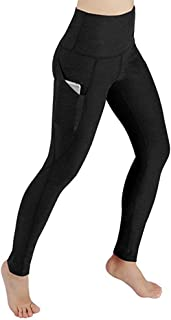 Pants Women Workout Out Pocket Leggings Fitness Sports Gym Yoga Athletic