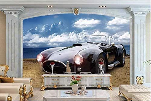 papel pintado 3D personalizado Pared Wallpaper Coche De Cobra dormitorio cocina 3D empapelar Fotomural Decoración damasco murales decoración de paredes moderna