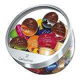 Tchibo Cafissimo - Bandeja para 30 cápsulas de café, color plateado
