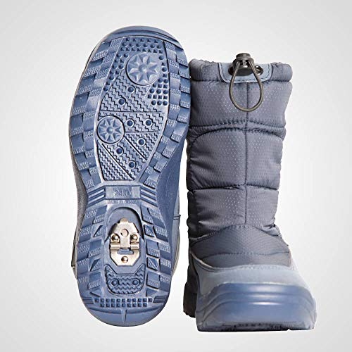 【BODYMAKER/ボディメーカー】スノーブーツ25cmネイビーAS05825NV靴雪山凍結路面スノーシューズブーツ防寒シューズ防寒靴