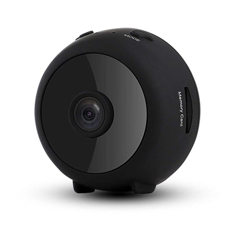 承認リダクターカジュアルミニIPカメラHD 1080PワイヤレスWifiカメラセキュリティカメラWi-Fiネットワーク-ブラック