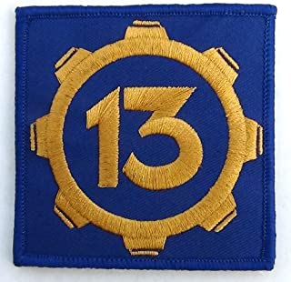 Vault 13 Fallout Style Patch Cosplay 3