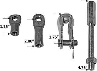 Tuff Stuff Performance - Power Brake Booster Extension Rod and Clevis Kit