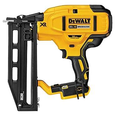 DeWALT DCN662B 20-Volt 16-Gauge Cordless Straight Finish Nailer, Bare Tool