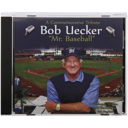 Baseball Voices Milwaukee Brewers Bob Uecker, Mr. Baseball Cd by N/A (2007-01-01)