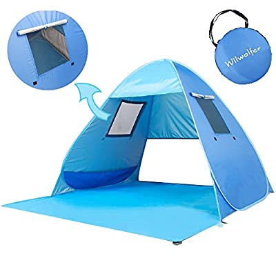 Pop Up Baby Beach Tent Portable Kiddies Shade Pool Tent 50 SPF UV Protection Sun Shelter Canopy for Infant