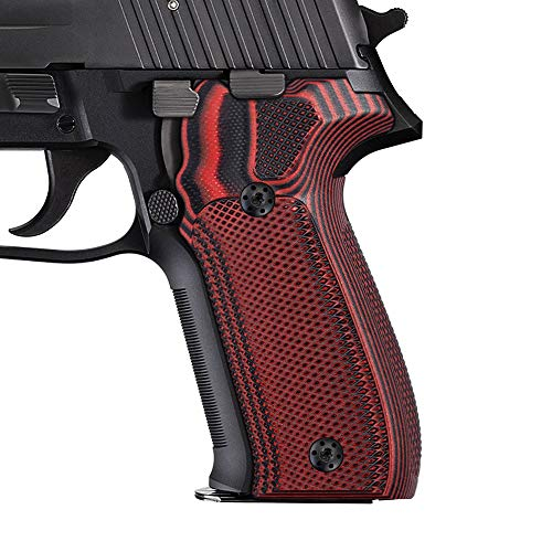 Cool Hand Grips Replacement for Sig Sauer P226,Cherry G10