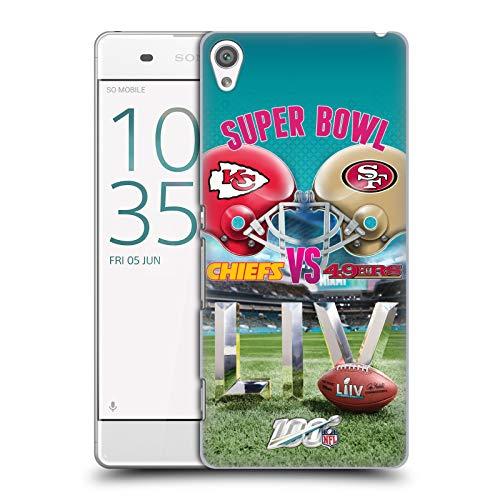 Official NFL Kansas City Chiefs vs San Francisco 49ers 2020 Super Bowl LIV Versus Hard Back Case Compatible for Sony Xperia XA/XA Dual