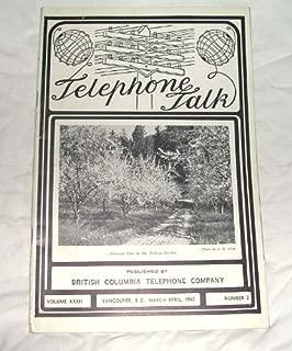 Telephone Talk March-April 1942 Volume XXXII, Number 2