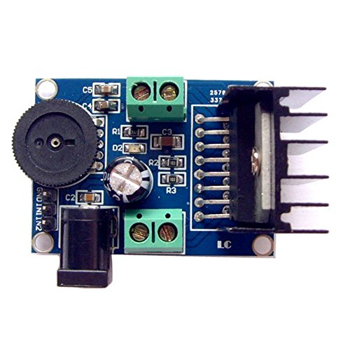 DaoRier TDA7297 Audio-Verstärker Amplifier Module 15W+15W 2-CH Leistungsverstärkermodul Verstärker Powered Stereo DC 6V-18V