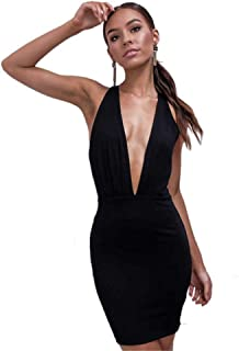 b14d856582ac Suchergebnis auf Amazon.de für: super sexy kleid mit tiefem ...