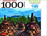 Borobudur Temple, Indonesia Jigsaw Puzzle - 1,000 pieces: The World's Largest Buddhist Monument, A UNESCO World Heritage Site (Finished Size 29 in. X 20 in.)