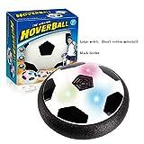 Air Hover Ball, Hover Football, Air Football Pelota con Suspensión de Aire y Luces LED Divertido BalÓN De Juguete para Jugar Fútbol en Casa sin Riesgo a Romper Nada,D