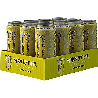 12 Dosen a 500ml Monster Ultra Citron Dose Energy Drink inc. Pfand gelb