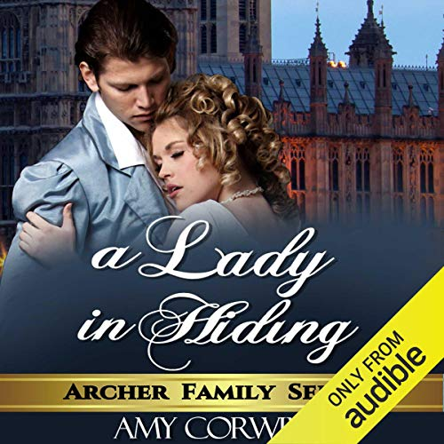 A Lady in Hiding audiobook cover art