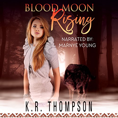 Blood Moon Rising (The Keeper Saga Book 8) audiobook cover art