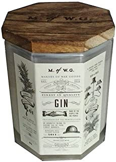 Makers of Wax Goods Rich & Bold #2 Gin Wood-Wick 11.4 Oz. Candle In Glass