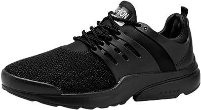 Mosstars Zapatillas Running Hombre Mujer Zapatillas Deportivas Hombre De Cordones En Gimnasio Aire Libre Y Deporte Transpirables Casual Zapatos Gimnasio Correr