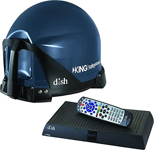 King VQ4510 Tailgater Bundle - Portable Satellite TV Antenna and Dish HD Solo VIP 211z Receiver