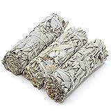 Weißer Salbei Smudge Sticks, 1/2/3PCS Sage Smudge Stick Kit Sage Bundle Für Die Reinigung Zu Hause Heilung Meditation Smudging Rituale Perfekte Salbei Stick Smudge Sticks Smudging Kit