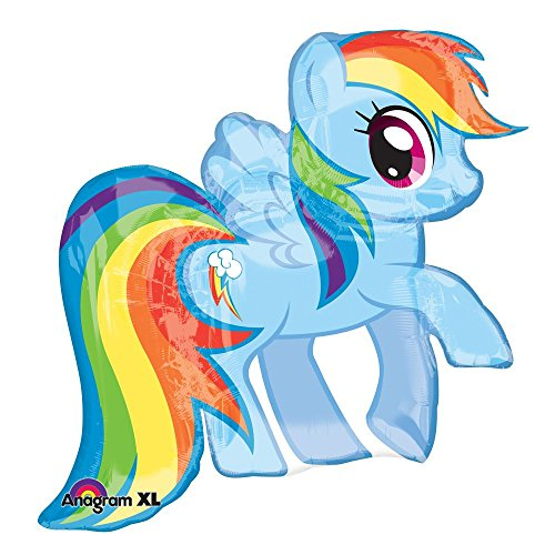 Mayflower Products My Little Pony Rainbow Dash Super Shape Balloon