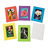Bright Foam Picture Frames - Crafts for Kids and Fun Home Activities