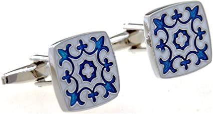 KX-YF Gemelos 1 par de Gemelos tallados for Hombre for ...