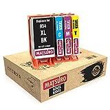 Matsuro Original | Compatible Cartuchos de Tinta Reemplazo para HP 934XL 935XL 934 XL 935 XL (1 Set)