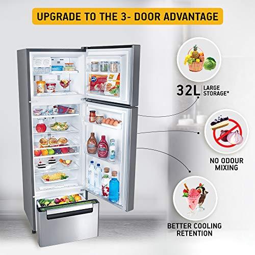 Whirlpool 260 L Frost-Free Multi-Door Refrigerator (FP 283D PROTTON ROY, German Steel) 4