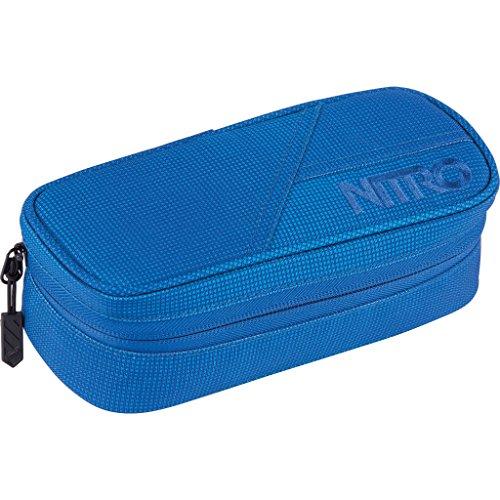 Nitro Pencil Case, Federmäppchen, Schlampermäppchen, Faulenzer Box, Federmappe, Stifte Etui, Blur Brill.Blue