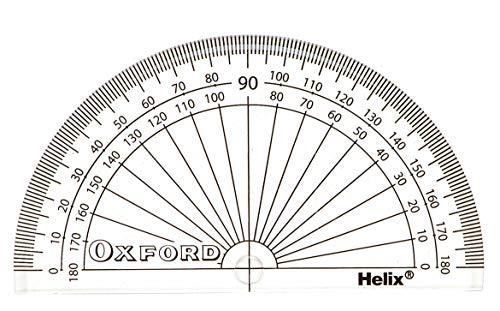 Helix Oxford H01011 - Transportador de ángulos