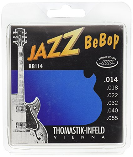 Thomastik 676837 Jazz BeBop Series (11-47/12-50/13-53/14-55)14-55