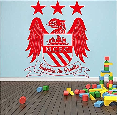 Squadra Calcio Europa League Logo Simbolo Adesivi Murali Per Bambini Cameretta Rimovibile Casa Decalcomanie In Vinile Arte Decorazione Murale 70 X 58 Cm
