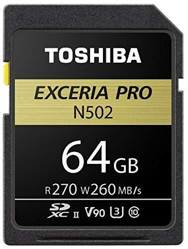 SDXU-D064G EXCERIA PRO SDXU-Dシリーズ SDXCメモリカード 64GB