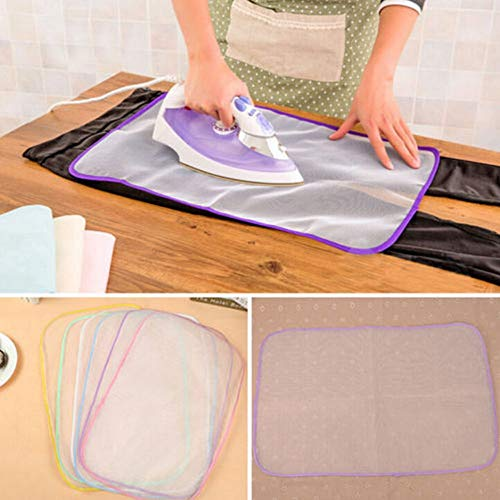 Best Quality Mats Cloth Cover Protect Ironing Pad Heat Resistant Mesh Board Mat 40x60 Cm, Silicone Iron Cover - Shoe Iron, Board Cloth, Hideaway Ironing Board Cover, Silicone Heat Pad