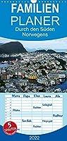 Norwegen 2022 - Familienplaner hoch (Wandkalender 2022 , 21 cm x 45 cm, hoch): Eine kleine Rundreise in Bildern durch den Sueden Norwegens (Monatskalender, 14 Seiten )
